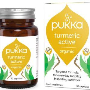 Pukka Turmeric Active 30 kapsułek