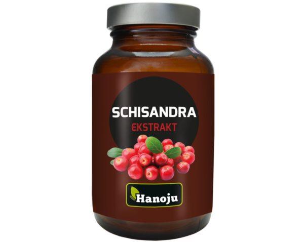Schisandra Hanoju ekstrakt 90 kapsułek