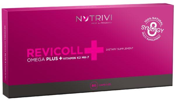 Revicoll Nutrivi Omega Plus + Vitamin K2MK7 60 kaps.