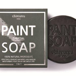 Chireureu Paint Soap | Mydło oczyszczające z węglem bambusowym