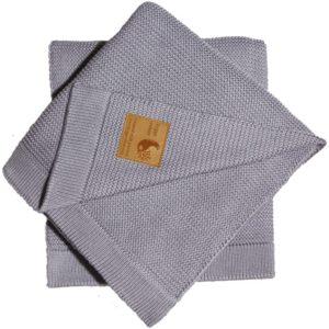 Grayy Knitty HyggeColour | Kocyk dziecięcy bawełniano-bambusowy