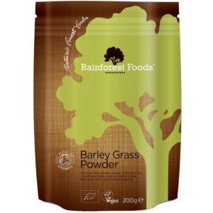 Rainforest Foods trawa jęczmienna 200 g