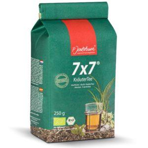 Jentschura 7x7 Krautertee 250 g | Mieszanka roślinna odkwaszająca