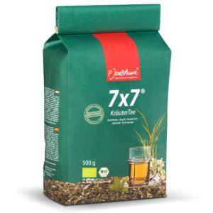 Herbata ziołowa Jentschura 7x7 500 g | Mieszanka roślinna odkwaszająca
