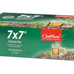 Herbata 7x7 dr Jentschura 100 szt. | Mieszanka roślinna odkwaszająca