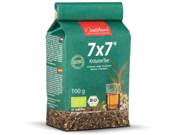 Jentschura Kräutertee 7x7 100 g   Mieszanka roślinna odkwaszająca