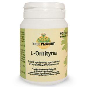 Medi Flowery L-Ornityna, aminokwas