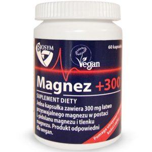 Medi Flowery Magnez +300 (Biosym) 60 kaps.