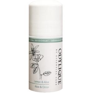 Essential Care dezodorant roll on cytryna i aloes z serii Odylique 50 ml