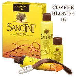 Sanotint Classic Copper Blonde 16