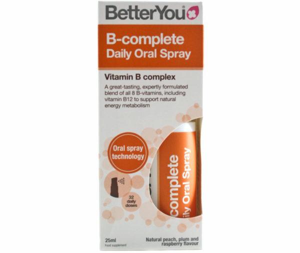 BetterYou B Kompleks Spray 25 ml (Witamina B)
