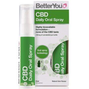 BetterYou CBD Daily Oral Spray 25 ml