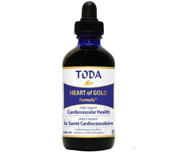 Krople Toda Heart of Gold 120 ml | Suplement na serce