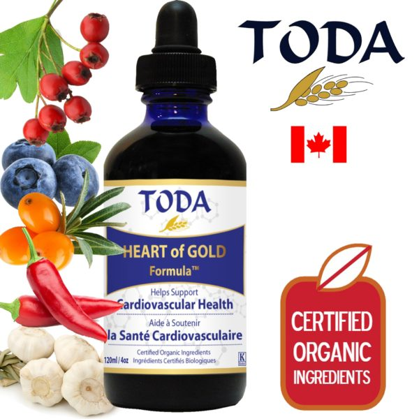 Toda krople Heart of Gold 120 ml | Suplement na serce