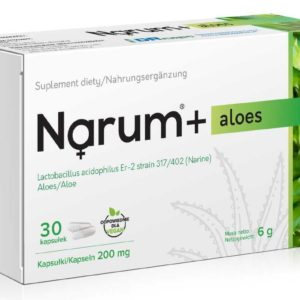 Narum Aloes 200 mg 30 kapsułek