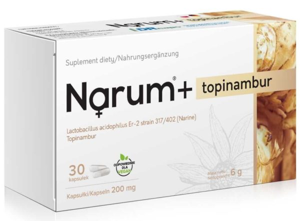 Narum Topinambur 200 mg 30 kapsułek