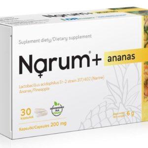 Narum Ananas 200 mg 30 kapsułek