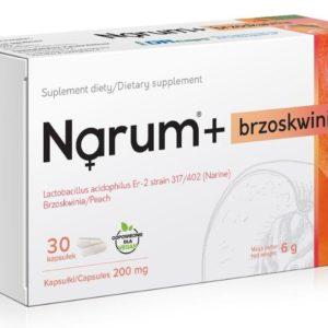 Narum Brzoskwinia 200 mg 30 kapsułek