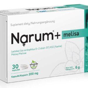 Narum Melisa 200 mg 30 kapsułek