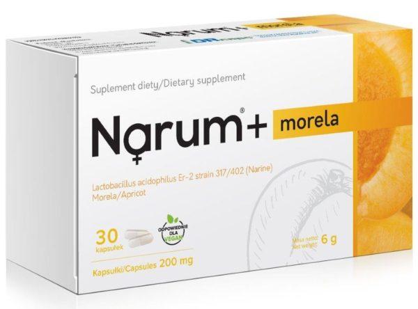 Narum Morela 200 mg 30 kapsułek