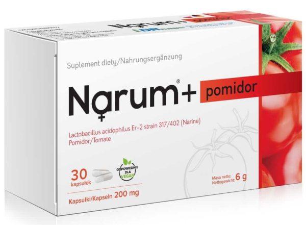 Narum Pomidor 200 mg 30 kapsułek