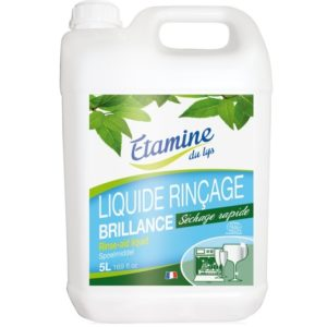 EDL Nabłyszczacz do zmywarki organiczna mięta i eukaliptus kanister 5 L