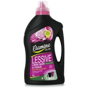 EDL płyn do prania czarnych ubrań organiczna piwonia 1 L