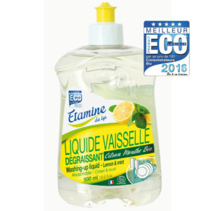 Płyn do mycia naczyń organiczna cytryna i mięta Etamine du Lys 500 ml