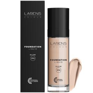 Larens Colour Liquid Foundation Glow Ciepły Light 01G
