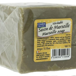 EDL Retro tradycyjne oryginalne mydło Marsylskie w kostce 100 g