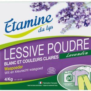 EDL Proszek do prania tkanin białych i o trwałych kolorach Lawenda 4 kg
