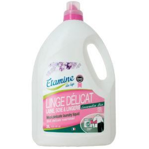 Naturalny płyn do prania wełny i delikatnych tkanin Lawenda EDL 3 L