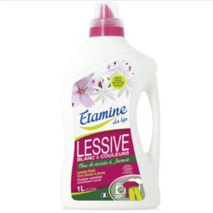 Eko płyn do prania tkanin kolorowych i białych kwiaty wiśni i jaśmin EDL 1L