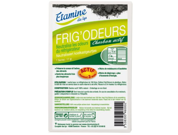 EDL pochłaniacz zapachów do lodówki 50 g