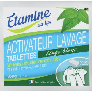 EDL Tabletki do wybielania i usuwania plam z tkanin 20 szt.