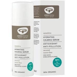Bezzapachowe multiazadaniowe serum do twarzy Green People 50 ml