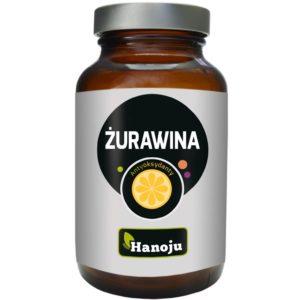 Ekstrakt z owoców żurawiny Hanoju 400 mg 90 kapsułek