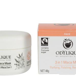 Essential Care Odylique Maca Mask 3w1 | Oczyszczająco-rewitalizująca maska