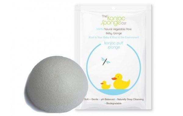 Gąbka do mycia dla dzieci Konjac Baby