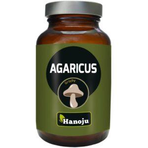 Hanoju Agaricus ekstrakt 40% 400 mg (Pieczarka brazylijska)