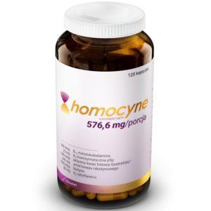 Hauster Homocyne 576,6 mg 120 kapsułek