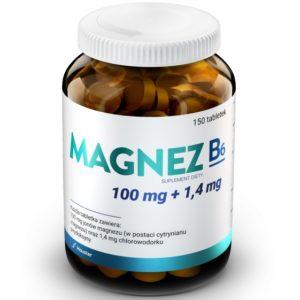 Hauster Magnez + B6 jony magnezu MG2 150 tabletek