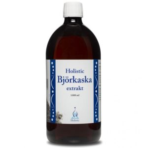 Holistic Bjorkaska popiół z brzozy w płynie 1 L   Odkwaszanie organizmu