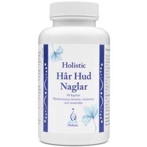 Holistic Hår Hud Naglar 90 kapsułek | Piękne włosy, skóra i paznokcie