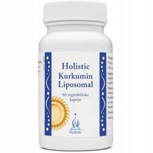 Holistic Kurkumin Liposomal 60 kaps | Kurkuma i kurkuminoidy liposomalne