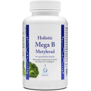 Holistic Mega B Metylerad 90 kaps. | Witaminy metylowane z grupy B
