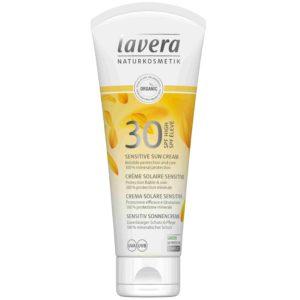 Lavera SPF 30 Sun Sensitiv krem przeciwsłoneczny do skóry wrażliwej 50 ml