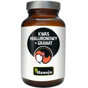 Kwas hialuronowy z ekstraktem z granatu Hanoju 60 kapsułek
