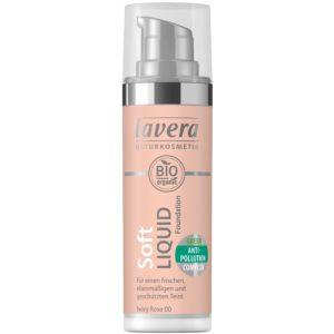 Lekki podkład w płynie Lavera Ivory Rose 00 Lavera 30 ml