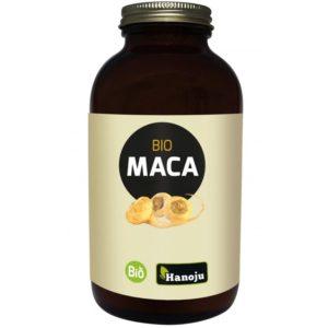 Maca organiczna ekstrakt 4:1 Hanoju 600 tabletek
